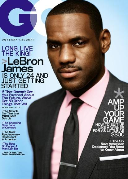 lebron james gq magazine cover