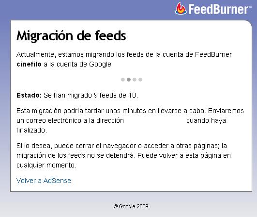 Migracion FeedBurner a Google - 2