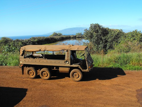 Maui Zip Line Outing - Our Chariot up the mountain