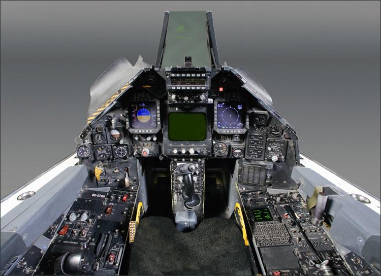 F 22 Cockpit Wallpaper