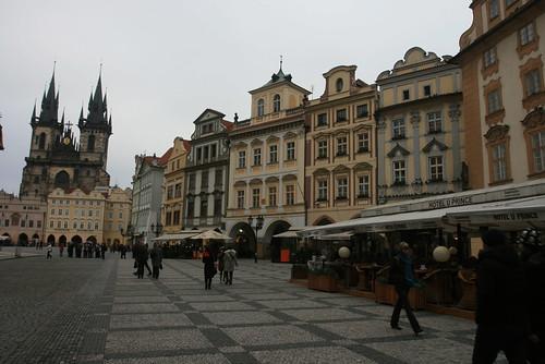 Place du centre de la vielle ville