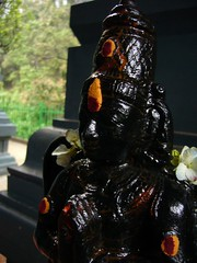 Sita Eliya Temple, Nuwara Eliya (Chris Belsten) Tags: temple hanuman hindu rama ramayana kingravana