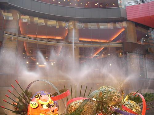キャナル・シティの噴水