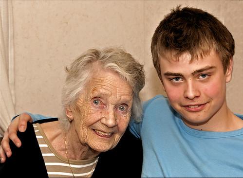 Granny & Grandson