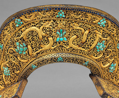 018b-Conjunto de silla de montar-aC 1400-Tibetano o chino- Copyrigth © 2000-2009 The Metropolitan Museum of Art