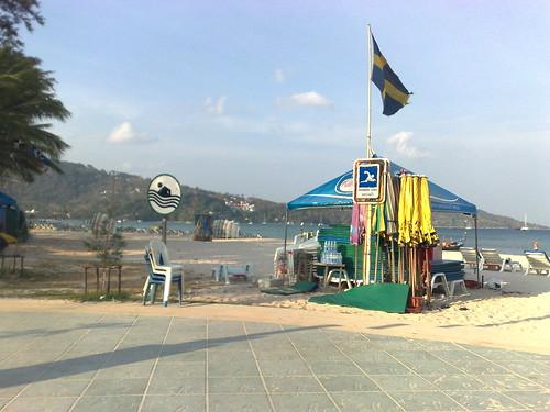 The Patong Beach