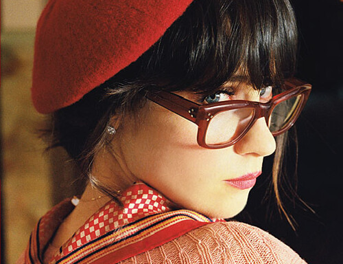 Zooey Deschanel for Oliver Peoples SS09 / Guise Archives