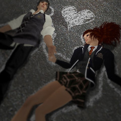 Crime scene ( Beattie ) Tags: secondlife