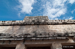 Jaguars on Sky (Mark Griffith) Tags: mexico ruins maya yucatan chichenitza mayanruins jaguar templeofthejaguar