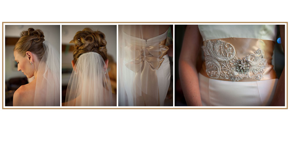 details of the bride