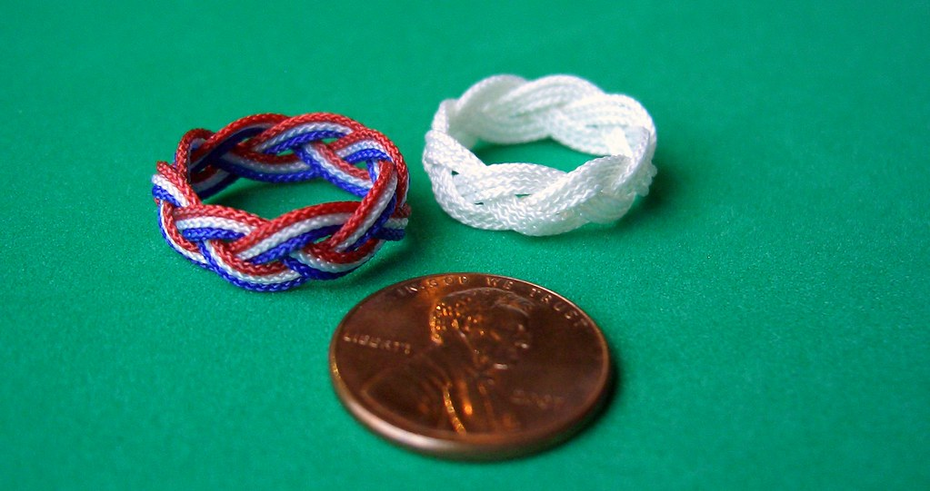 Turk's head knot rings