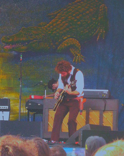 Jim James vs. The Gator