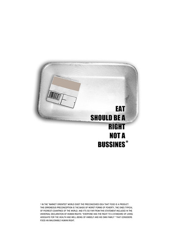 eat should be a right not a business*