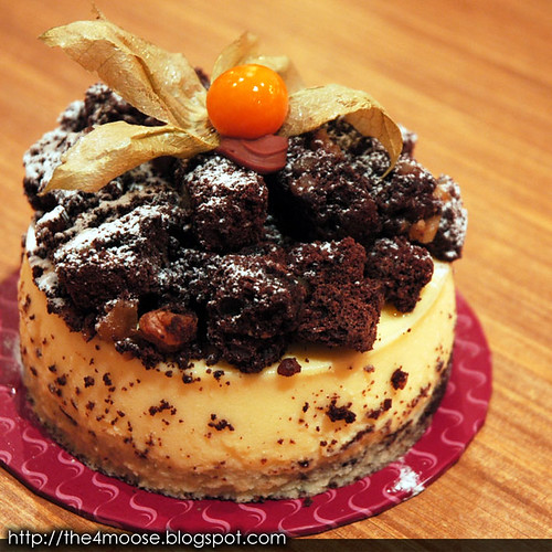 Double-Baked Brownie Cheese Cake