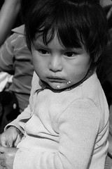 Leftovers for Later (Petarine) Tags: bw latinamerica southamerica toddler child bolivia cochabamba bolivianchild indigenouschild boliviantoddler indigenoustoddler