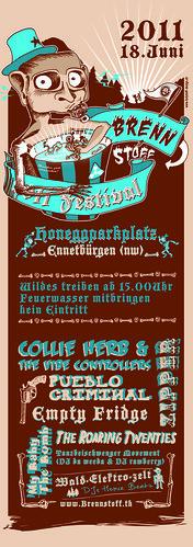 Brennstoff Festival 2011 - Ennetbürgen - 18.06.2011 - PUEBLO CRIMINAL