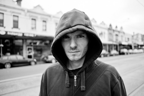 Ian, Nicholson Street 2011 by PachinkoPictures