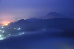 () Tags: fog night clouds sunrise taiwan