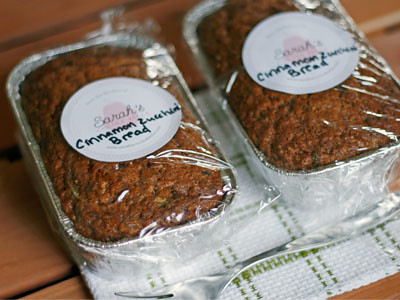 Perfect Teacher Gift: Cinnamon Zucchini Bread Mini-Loaves