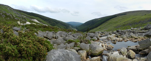 Seven Churches, Co. Wicklow - panorama