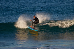 South Steyne Surf (Craig Jewell Photography) Tags: beach surf pacific iso400 manly sydney paddle australia surfing nsw f40 paddlesurfing 13200sec paddleboarding standuppaddlesurfing ef500mmf4lisusm canoneos1dmarkiv cpjsm craigjewellphotography