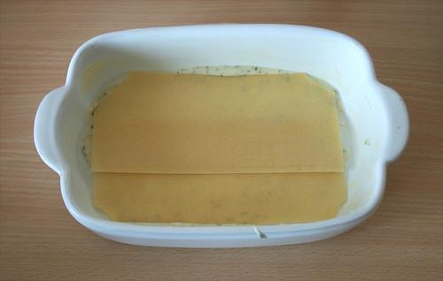 22 - Lasagneplatten einlegen