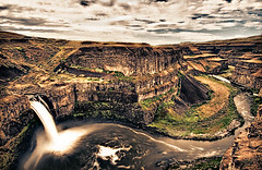 Palouse Falls 3 (rlhaas1) Tags: trip travel summer vacation usa nature landscape photography photo waterfall washington scenery farm hdr palouse d300 hdrefexpro