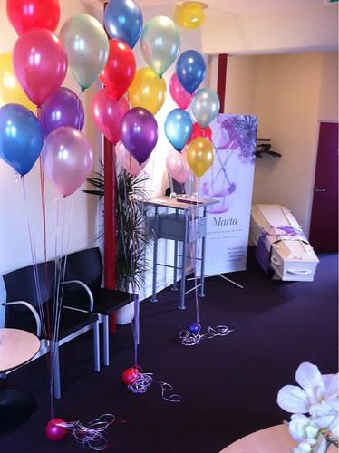 Heliumballonnen CVU Uitvaartcentrum Capelle aan den IJssel