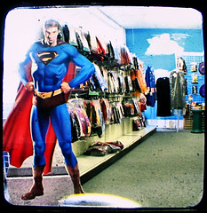 Superman Saves Costume Shop