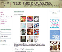 Indie Quarter feature!