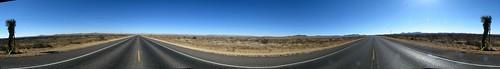 Plateau 15 miles east of Marathon, Texas, USA (360 degree panorama)