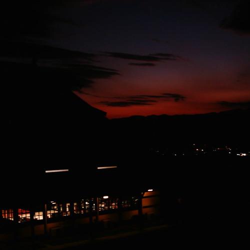 Evening glow [ Matsuomoto / Nagano ]
