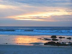 Sunset at Asilomar State Beach