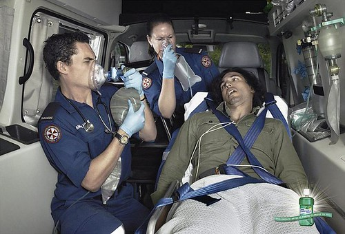 Listerine ambulance