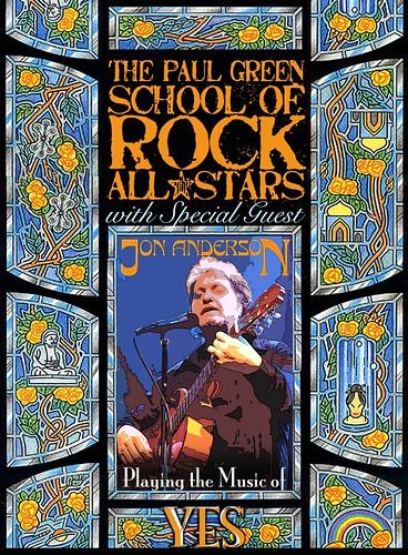 Jon Anderson School of Rock 4/9