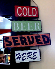 Cold Beer Served Here!
