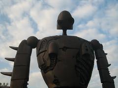 Towering robot