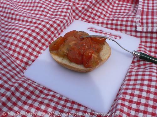 Halbgetrocknete Tomaten à la Nigella