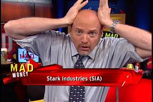 Jim Cramer and Iron Man: Together At Last
