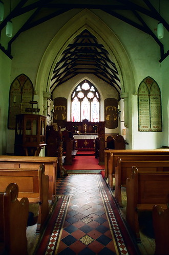 Church of St Brynach , Llanfrynach, Breconshire.