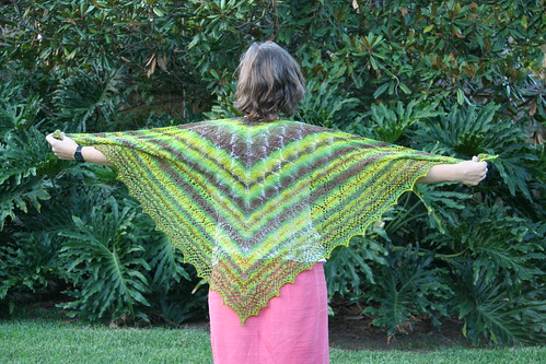 North Roe shawl
