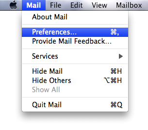 Mail Preferences