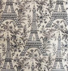 Mark Miler Eiffel Tower fabric