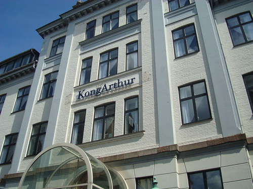 Kong Arthur in Copenhagen