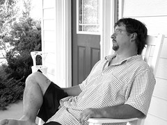 Day 160: I remember (bigChill) Tags: summer bw me eos william porch carolina summertime rocking rockingchair poems 2008 remembering srichinmoy iremember 365days expressionsofself thesongs file:name=img1062a beautifulhotday shavedthebeardleftthegoateefornow beardwillbeback