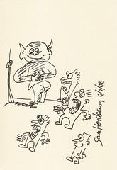 Yoda sketchbook page 75 - Sam Henderson