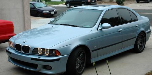 BMW gas guzzler