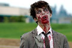 Zombie! (danhollisterduck) Tags: halloween flesh dead scary blood fuck zombie tie suit brains gore undead