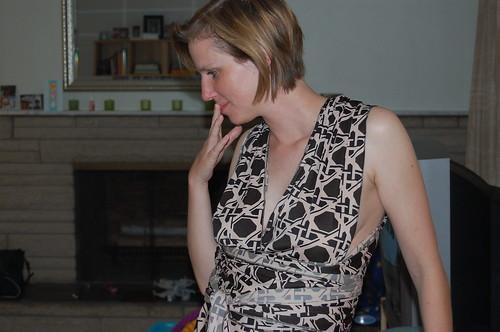 Infinity dress debacle