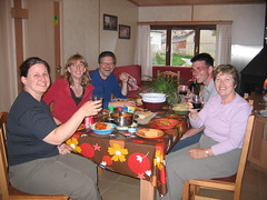 """Dinner in Atapuerca • <a style=""""font-size:0.8em;"""" href=""""http://www.flickr.com/photos/48277923@N00/2621889529/"""" target=""""_blank"""">View on Flickr</a>"""